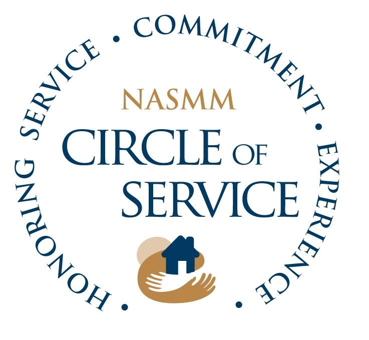 NASMM Circle of Service Award 2014